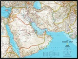 Map of Afghanistan  Pakistan and the Middle East