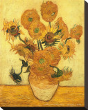 Vase of Fifteen Sunflowers  c1889