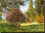 Le parc Monceau Tableau sur toile par Claude Monet