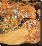 Eau mouvante Tableau sur toile par Gustav Klimt