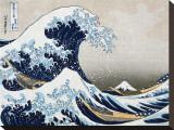 La grande vague de Kanagawa Tableau sur toile par Katsushika Hokusai