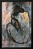 Nu bleu, 1902 Affiche plastifiée encadrée par Pablo Picasso