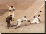 Jackie Robinson Stealing Home  May 18  1952