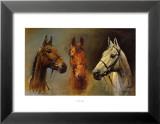 Nous, les trois rois Reproduction laminée et encadrée par Susan Crawford