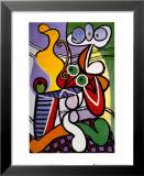 Nu et nature morte, 1931 Reproduction laminée et encadrée par Pablo Picasso