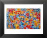 Carte Reproduction laminée et encadrée par Jasper Johns