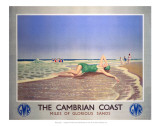 The Cambrian Coast  Miles of Glorious Sands GWR