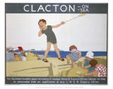 Clacton Kid Playing