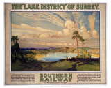 The Lake District of Surry