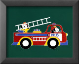 Dogs on Firetruck II