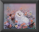 Kittens and Flowers IV