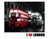 London Bus Red  I Love London
