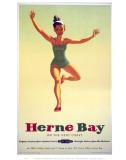Herne Bay Girl in Green Costume
