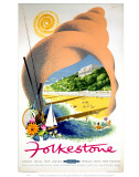 Folkestone in a Shell