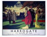 Harrogate  It's Quicker by Rail