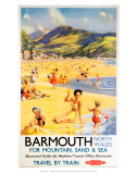 Barmouth North Wales for Mountain  Sand and Sea