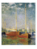 Argenteuil Reproduction d'art par Claude Monet