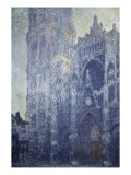 Rouen Cathedral  the Portal and the Tower of Saint-Romain  Morning Effect  Harmony in White