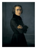 Portrait of Franz Liszt