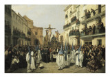 Procession of Holy Friday in Sevilla