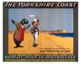The Yorkshire Coast Reproduction d'art
