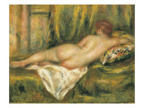 Reclining Nude from the Back  Rest after the Bath