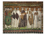 Emperor Justinian and His Court