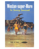 Weston-Super-Mare  in Sunny Somerset