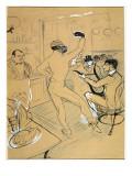 """Chocolat Dancing in the """"Irish and American Bar"""""""