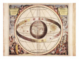 Scenographia Systematis Mundani Ptolemaici  Representation of the Ptolemaic Universe