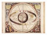 Scenographia Systematis Mundani Ptolemaici  Representation of the Ptolemaic Universe