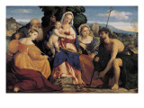 Madonna and Child with Saints (Madonna Col Bambino E Santi)