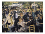 Ball at the Moulin De La Galette  Montmartre