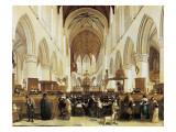 The Interior of the Grote Kerk  Haarlem