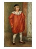 Claude Renoir in a Clown Costume