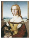 Woman with an Unicorn