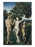 Diptych: the Fall of Man and the Lamentation
