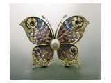 Modernist Pin  Butterfly-Shaped