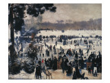 Skaters on the Bois De Boulogne