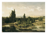 Countryside with a River  Manzanares