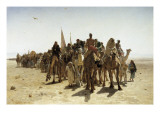 Pilgrims Going to Mecca (P&#233;lerins Allant &#192; La Mecque)