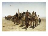 Pilgrims Going to Mecca (Pélerins Allant À La Mecque)