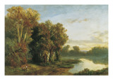Landscape on the Banks of a River