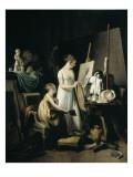 A Painter's Studio
