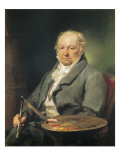 Portrait of Francisco De Goya