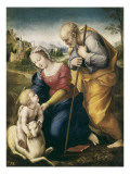 The Holy Family with the Lamb