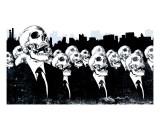We Live no more Reproduction d'art par Alex Cherry