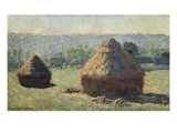 The Haystacks  or the End of the Summer  at Giverny