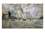 The Boats  or Regatta at Argenteuil