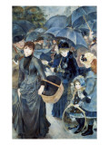 The Umbrellas Reproduction d'art par Pierre-Auguste Renoir